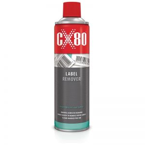 CX80 LABEL REMOVER Preparat do usuwania naklejek 500ml