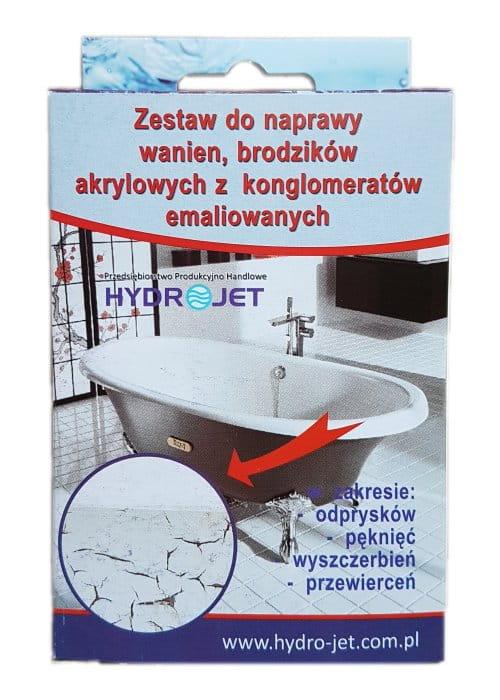 Inne rodzaje Zestaw do naprawy wanien, brodzików z akrylu i emalii. kwasek.pl PJ59